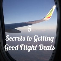 5 Secrets to Getting Good Flight Deals